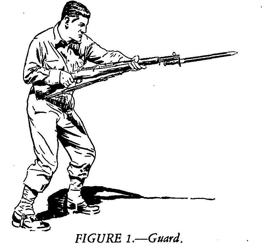 Hyperwar Us Army Field Manual 23 25 Bayonet