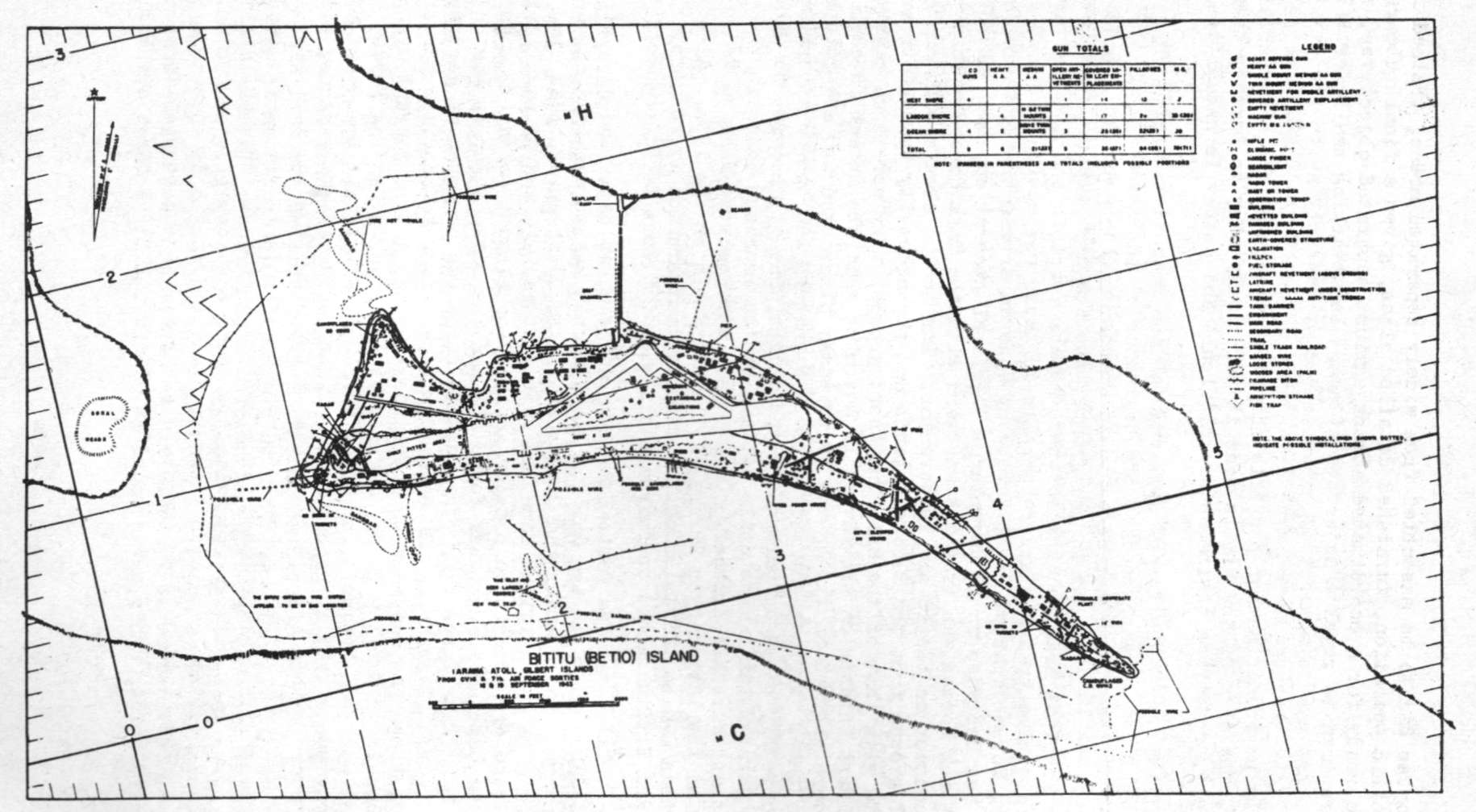 HyperWar The Coast Guard At WarVI The Pacific - tarawa atoll map