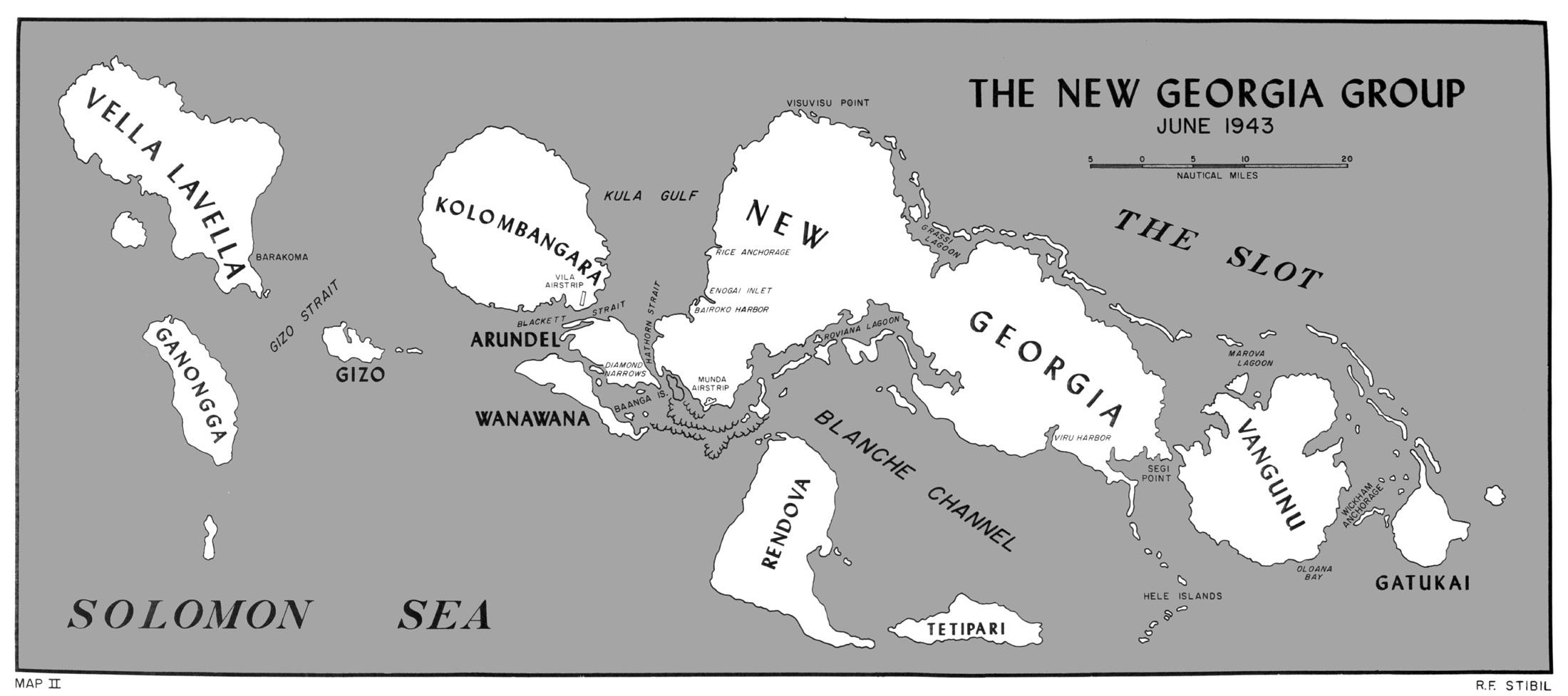 The New Georgia Group