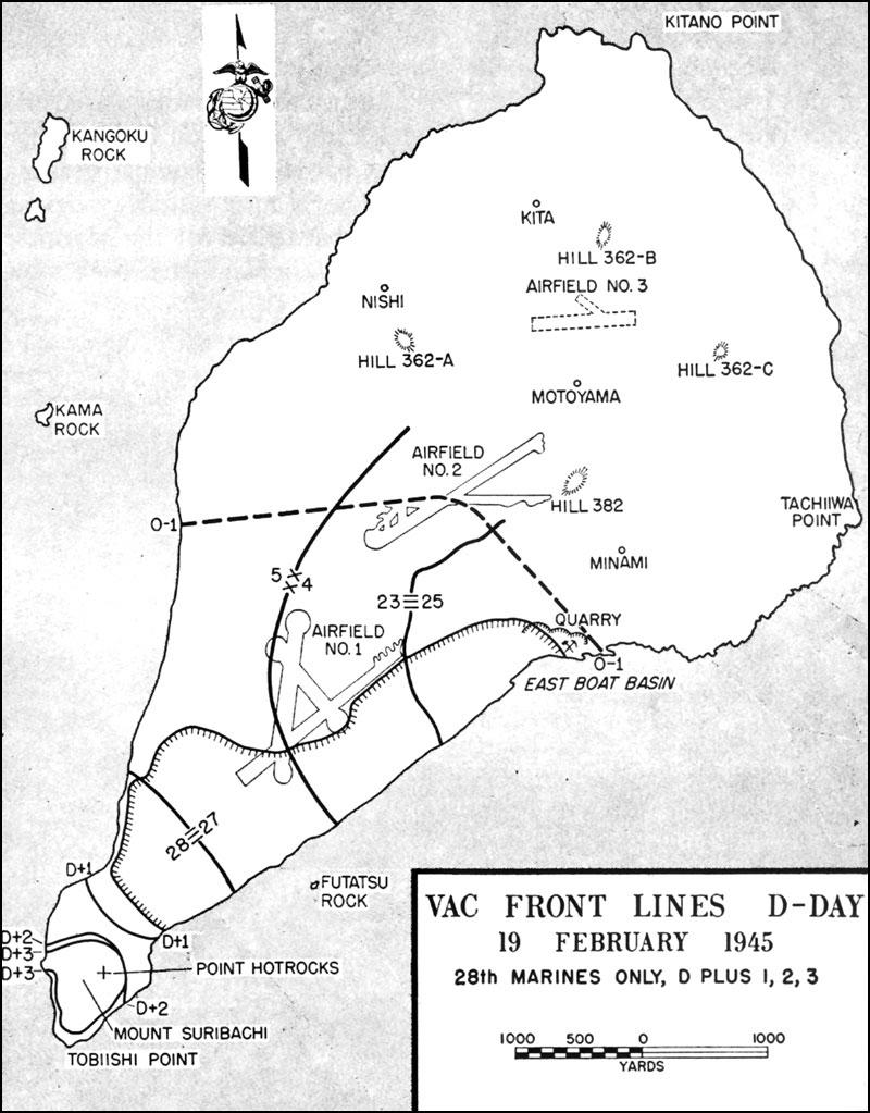 HyperWar: Closing In: Marines in the Seizure of Iwo Jima on