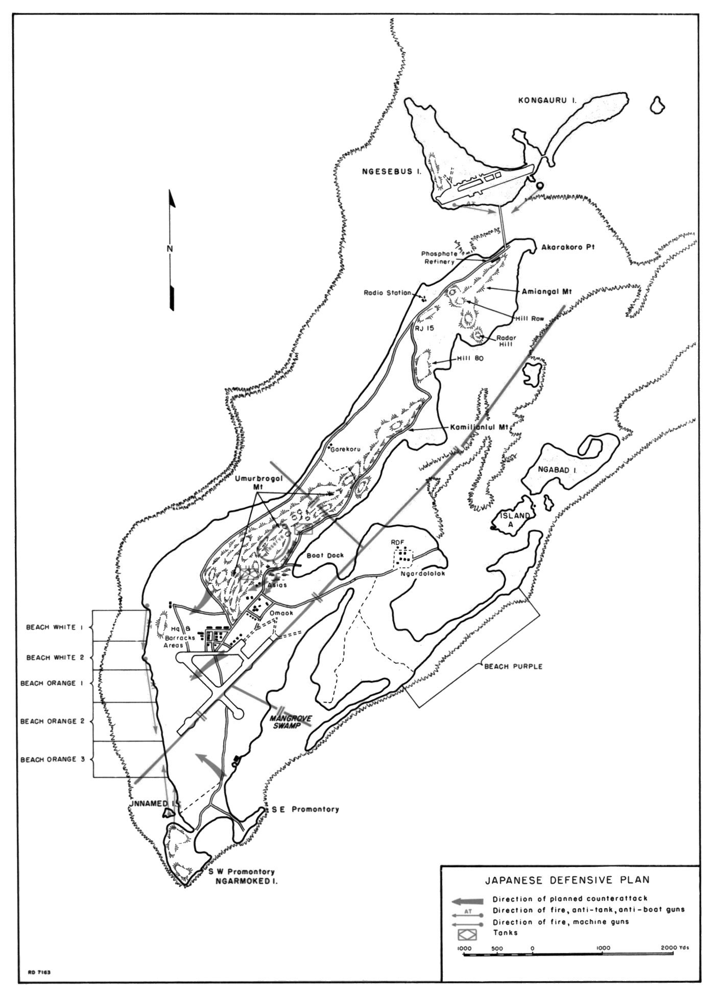 Bloody Beaches The Marines At Peleliu Japvtwinenginediagramjpg