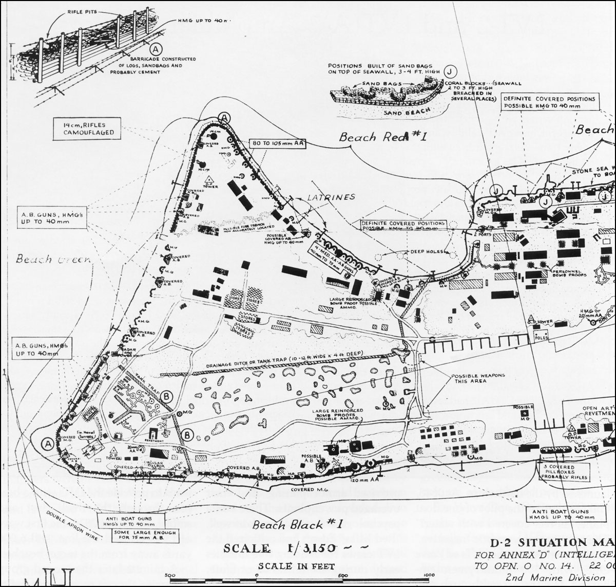 Across The Reef The Marine Assault Of Tarawa - tarawa atoll map