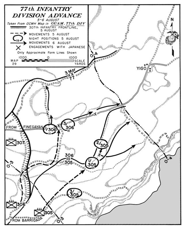 hyperwar usmc monograph the recapture of guam Guam Residents see map 29