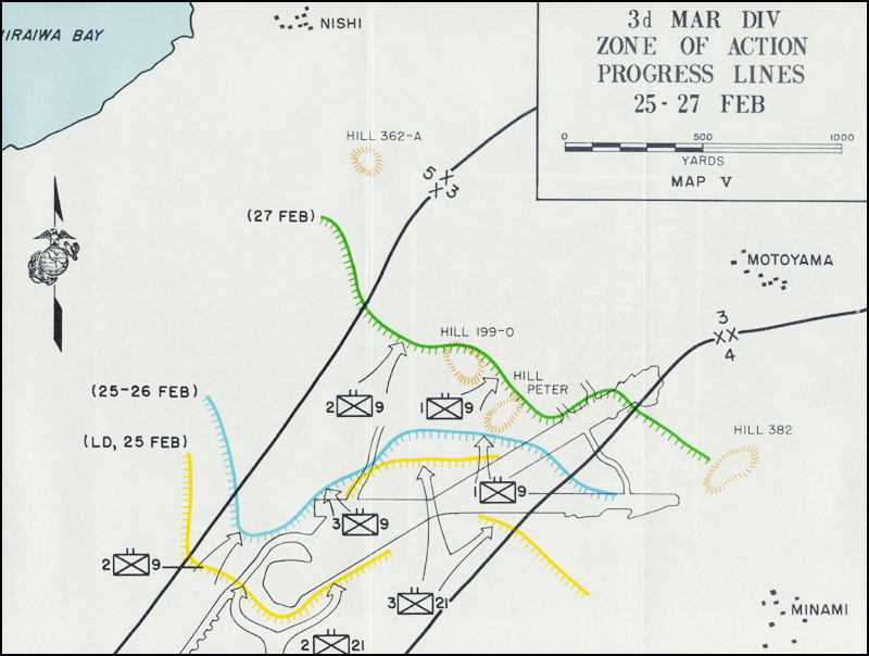 HyperWar: Iwo Jima: Amphibious Epic [USMC Historical Monograph] on tarawa map, battle of the coral sea, john basilone, new guinea map, formosa map, letters from iwo jima, guam map, coral sea map, battle of leyte gulf, flags of our fathers, battle of iwo jima, bataan death march, pacific war, hiroshima map, south pacific map, moscow map, ww2 map, ira hayes, pearl harbor map, sudetenland map, guadalcanal map, wake island, saipan map, singapore map, guadalcanal campaign, nagasaki on map, japan map, rene gagnon, raising the flag on iwo jima, korea map, world map, midway map, battle of peleliu, okinawa map, okinawa prefecture, battle of okinawa, okinawa island,