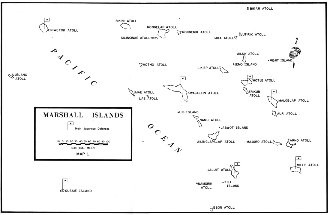 Image result for map of bikini atoll