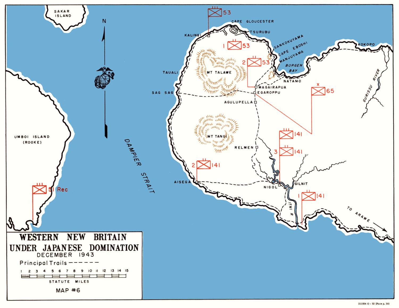 HyperWar USMC MonographThe Campaign on New Britain