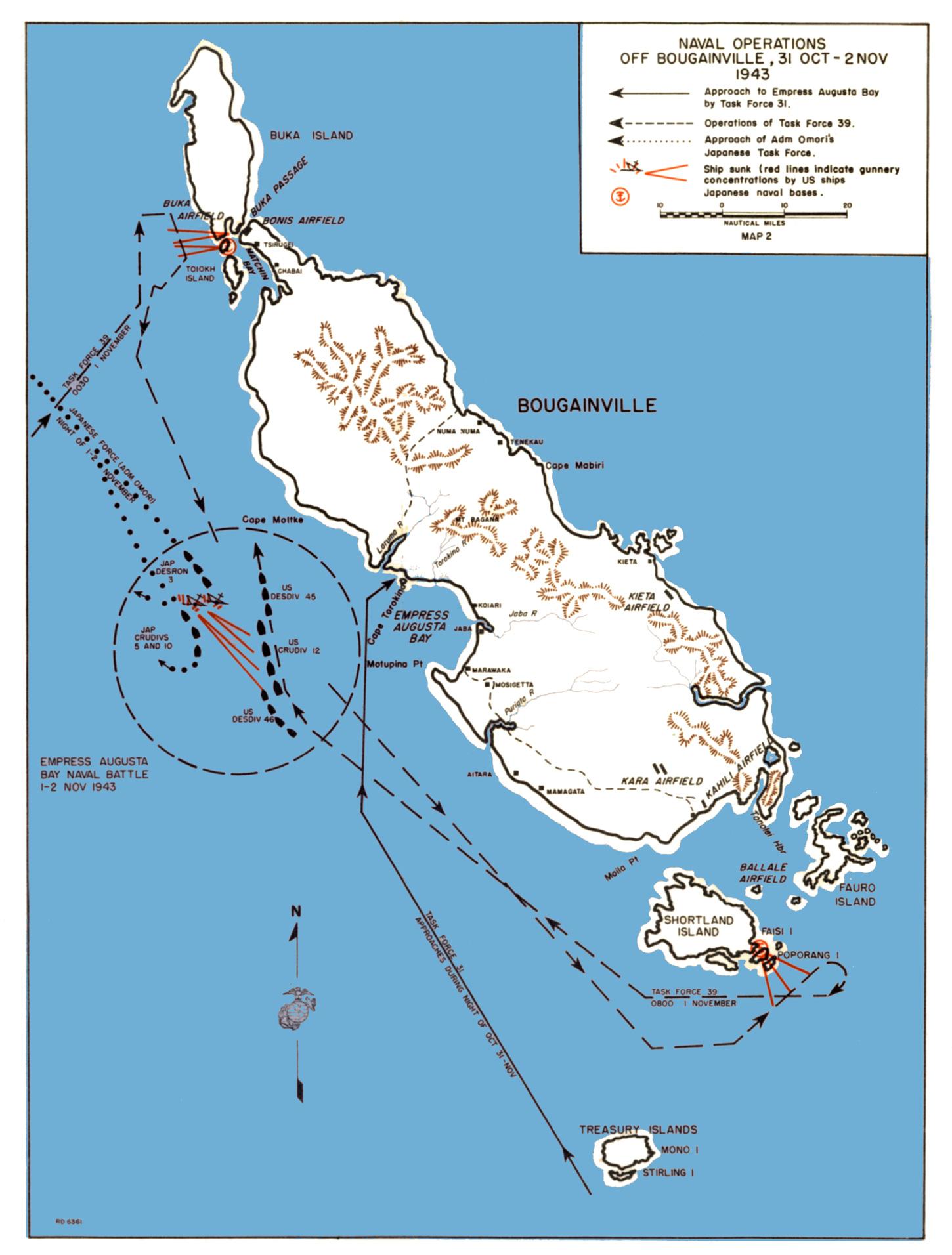 Nissan Of Queens >> HyperWar: USMC Monograph--Marines in the Central Solomons