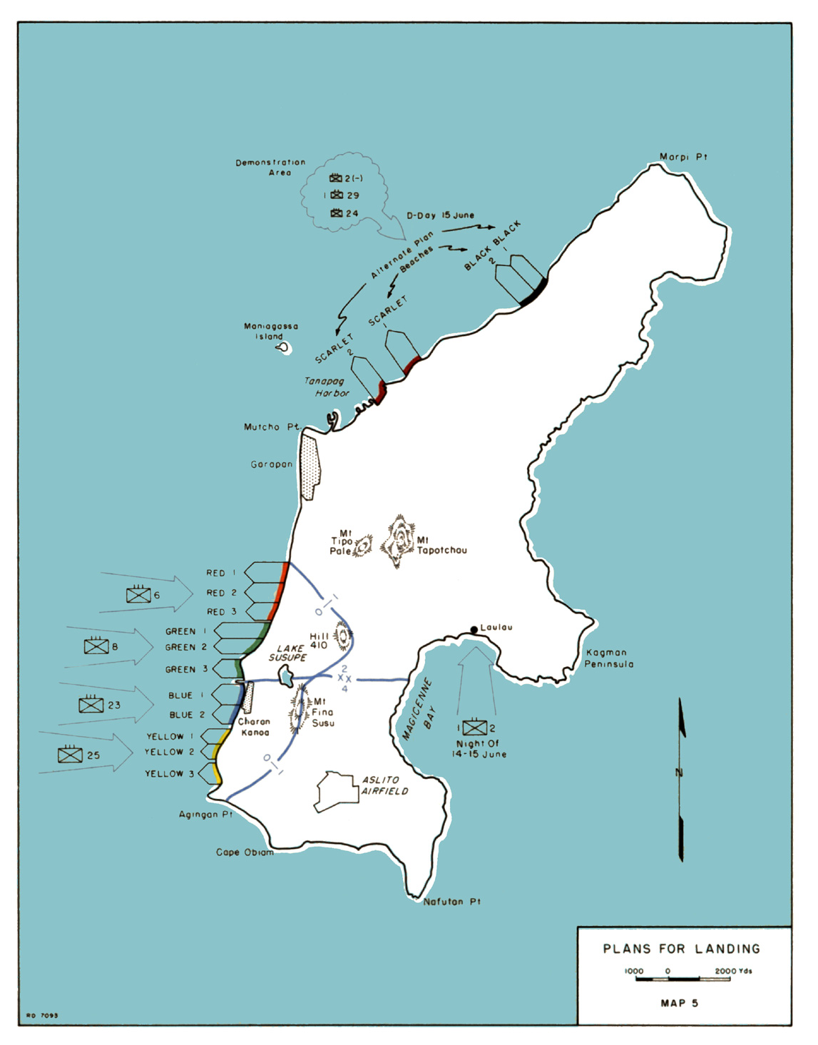 HyperWar: USMC Monograph--Saipan: The Beginning of the End on papeete map, battle of midway map, peleliu map, micronesia map, iwo jima map, tinian map, pago pago, guam map, tarawa atoll, mariana islands map, coral sea map, marshall islands map, malta map, midway atoll, wake island, philippines map, guadalcanal map, palau map, tarawa map, battle of guam, pohnpei map, sipan island map, pacific war, saipan international airport, howland island, northern mariana islands, taiohae map, larry hillblom, pago pago map, battle of saipan, yap map,