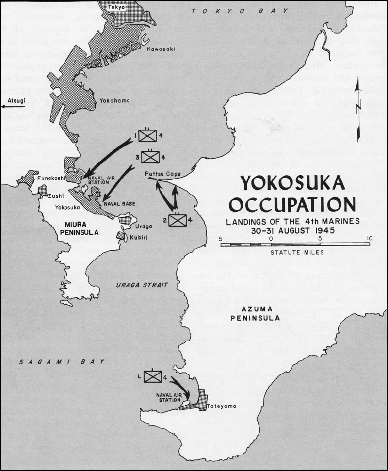 Yokuska Japan Map With Cities on