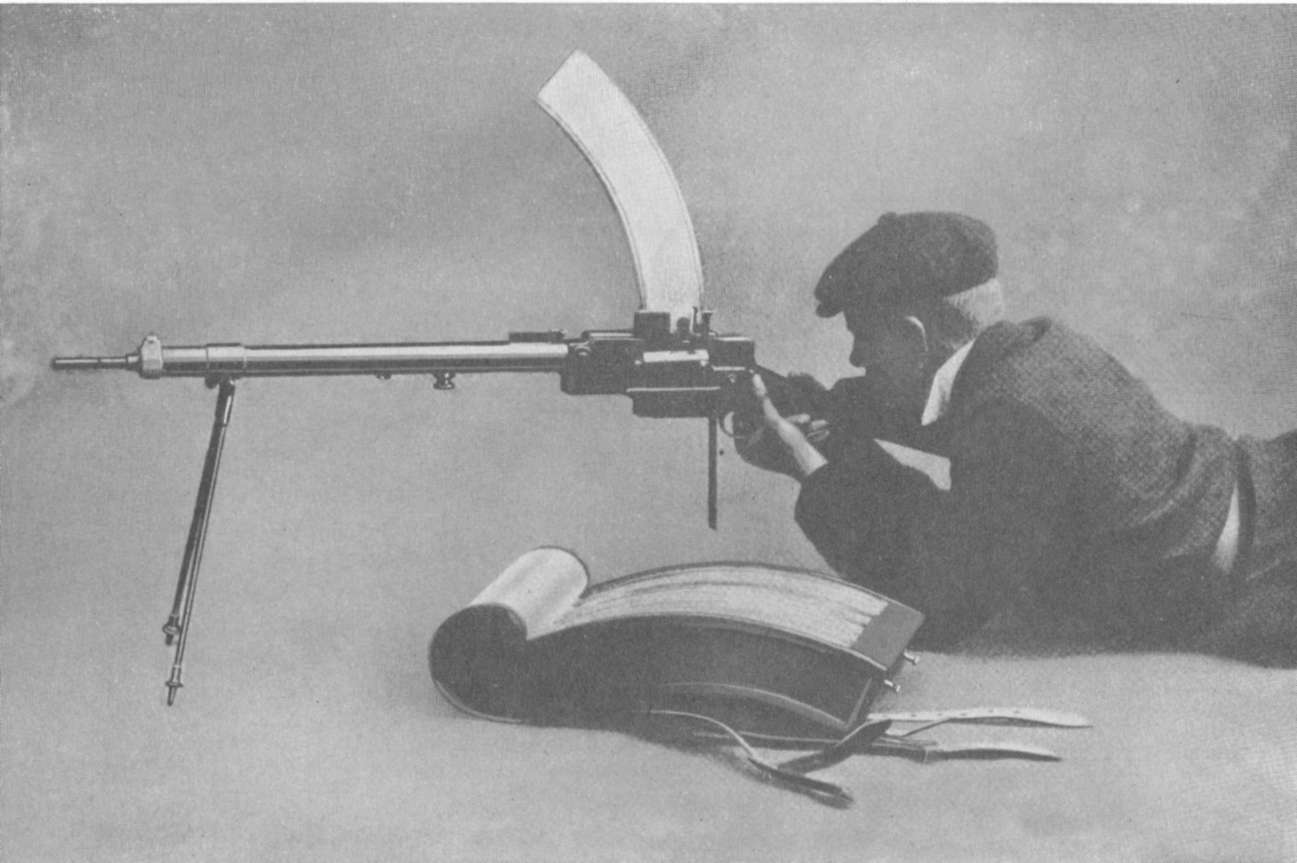 the machine gun essay The machine gun is designed to be rapid-fire, but it is not very accurate as an advanced building challenge, you could try modifying the design to make the contact between the bullets and the spinning arm more consistent, or add something to force the bullets to shoot straighter.