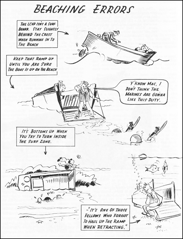 Hyperwar Skill In The Surf A Landing Boat Manual Chapter 6