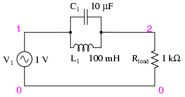 frequency ac circuit parallel resonant band stop filter rh electronics stackexchange com Subwoofer Diagram Full Electronic Delay Circut Diagrams