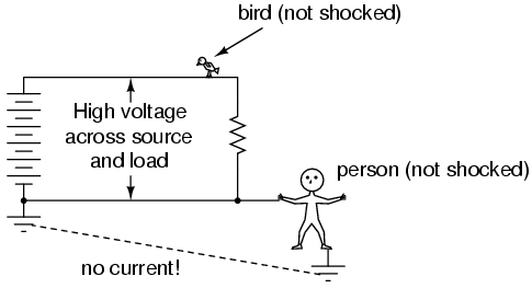 lessons in electric circuits volume i dc chapter 3 shock current path
