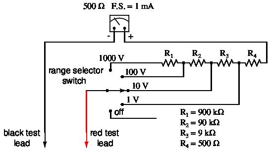 lessons in electric circuits volume i dc chapter 8 rh ibiblio org Analog Meter analog multimeter circuit diagram+explanation pdf