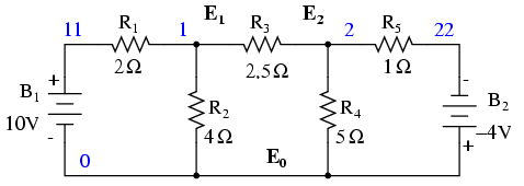 DC 10 on parallel electrical circuit