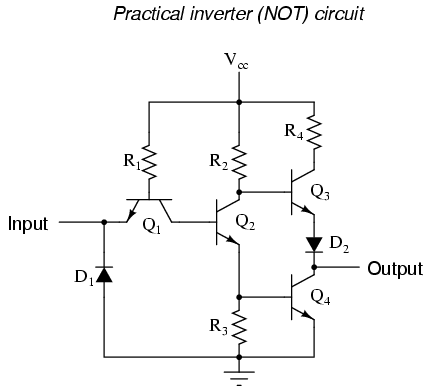 lessons in electric circuits volume iv (digital) chapter 3the not gate