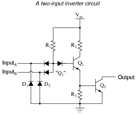 logic circuit diagram schematic lessons in electric circuits volume iv  digital  chapter 3  lessons in electric circuits volume