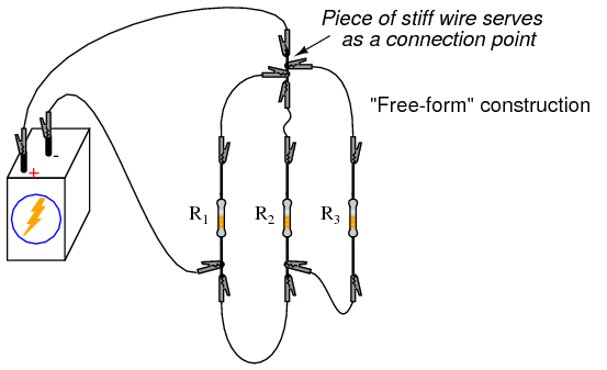 lessons in electric circuits -- volume vi (experiments) - chapter 3, Wiring diagram