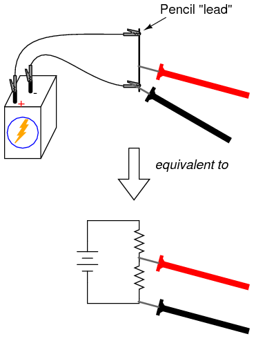 lessons in electric circuits volume vi experiments With circuit and the lighter leads will measure the voltage across the