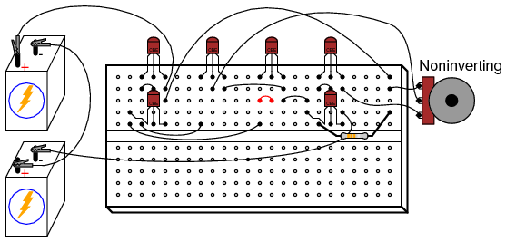 Equalizers likewise Curing  parator Instability With Hysteresis together with Build A Zener Diode Regulation besides Light Dark Activated Relay besides EXP 5. on how to use breadboard circuits
