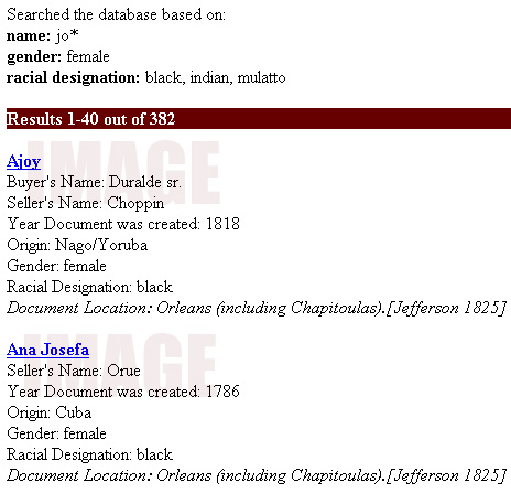 Afro-Louisiana History and Genealogy