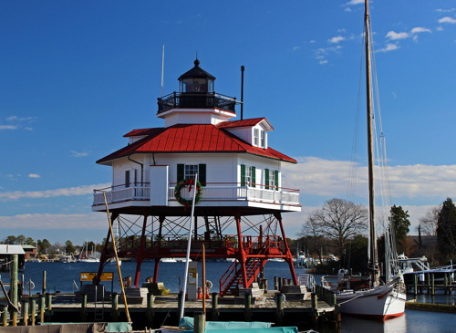 Lighthouses of the U S : Maryland Western Shore