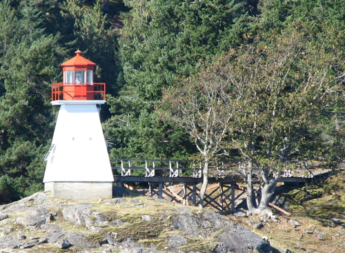 Lighthouses of Canada: Southern British Columbia