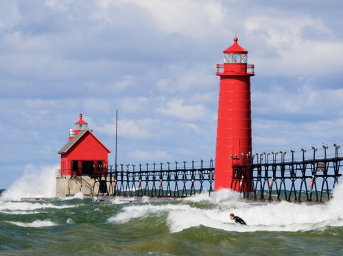 Lighthouses of the U.S.: Michigan's Western Lower Peninsula