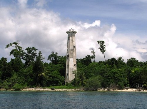 Pulau Boo Besar Light