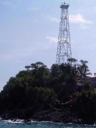 Pulau Manuk Light