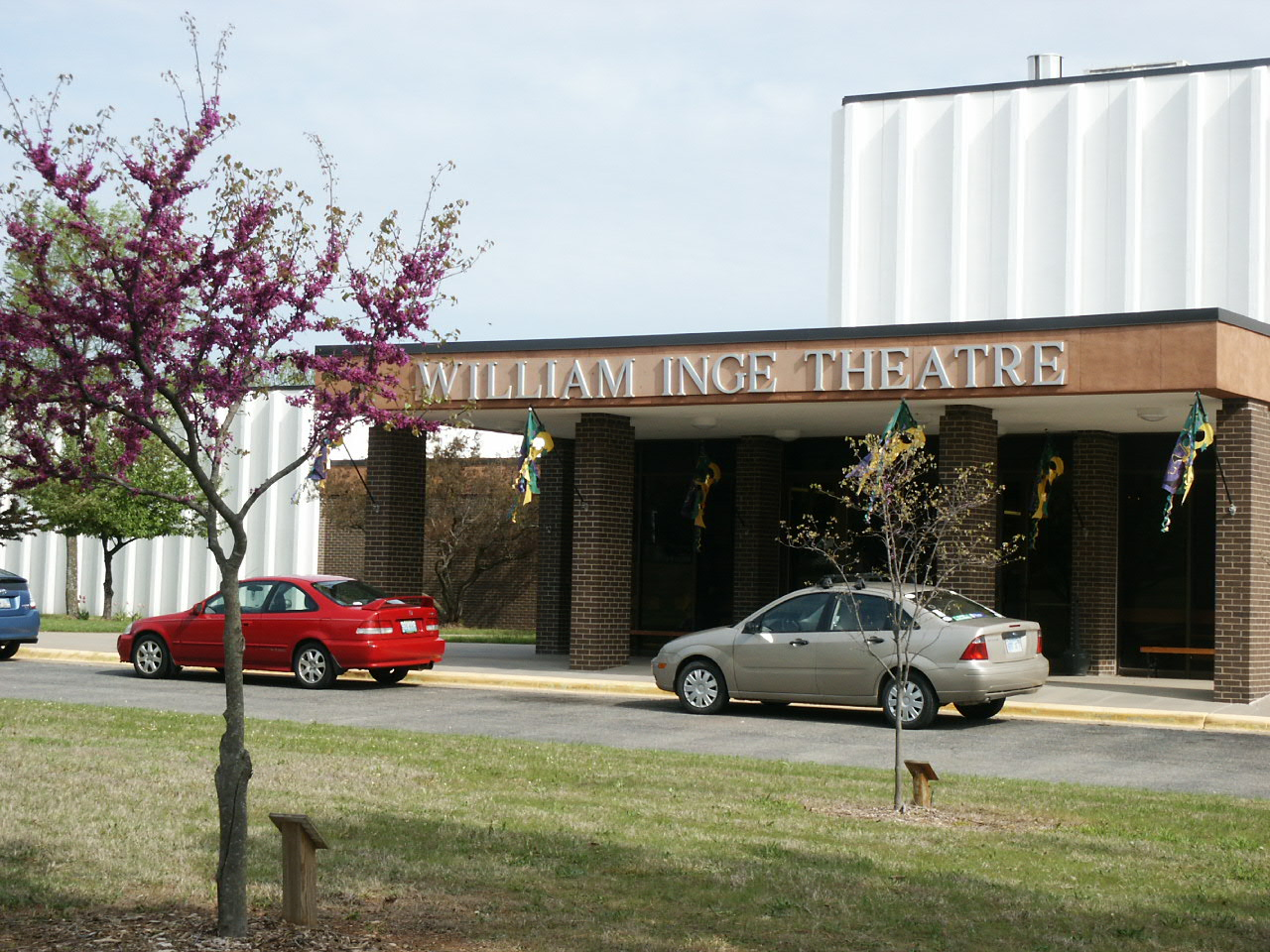 recent current and forthcoming miller events outside the william inge theatre they have planted a tree for each past honoree of the william inge festival achievement award who has passed on
