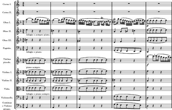 Brandenburg concerto no 1 second movement adagio by - Volpino piccolo ...