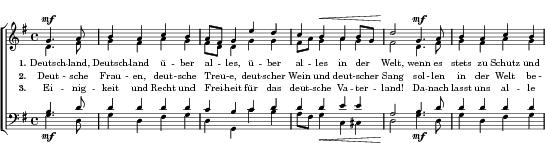 Deutschland Lied Verboten