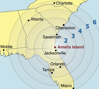 Where Is Amelia Island Florida On The Map.The Antebellum United States Navy