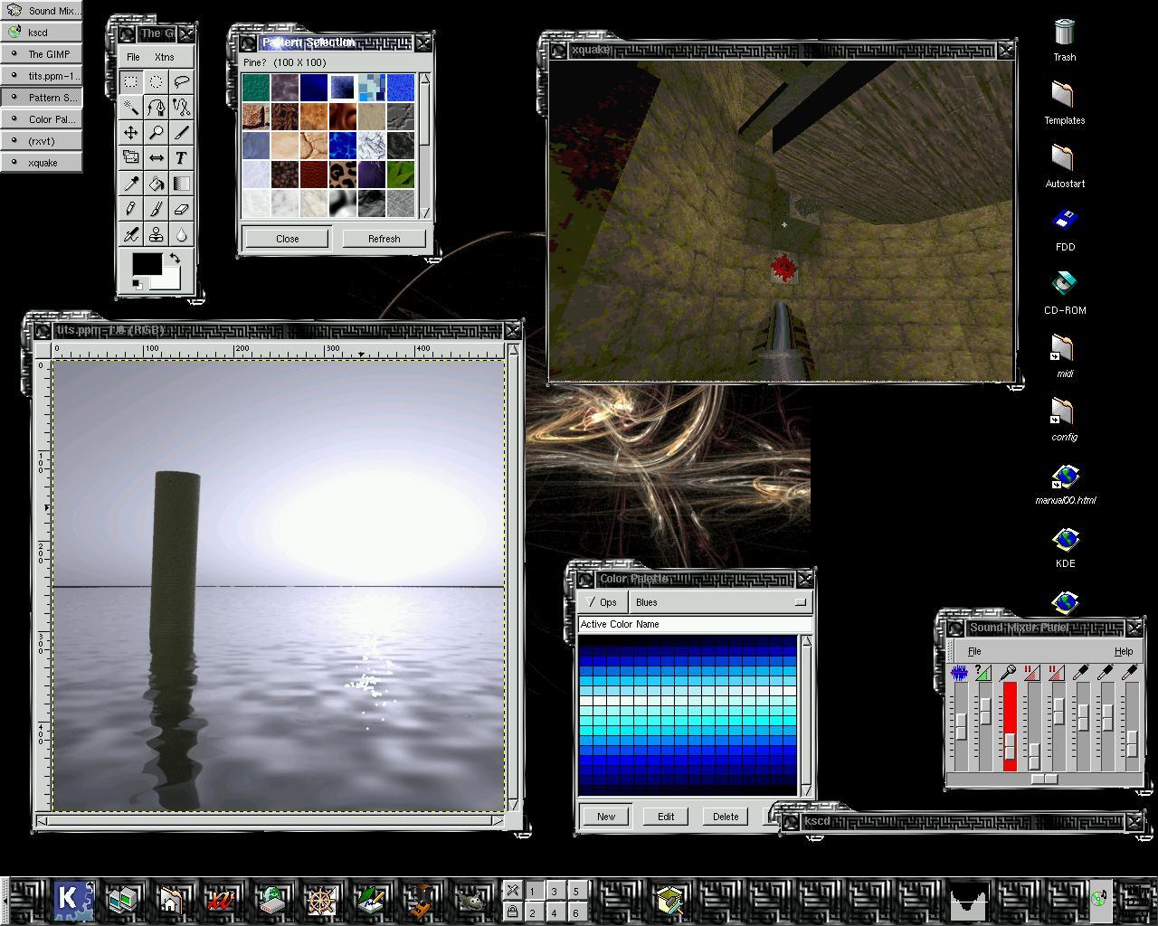Maze Inspired Theme Screens Ktheme_mazed_small Jpg A Maze Inspired Theme Screens Ktheme_openlook 0 1 Tgz A Theme Which Looks Similiar To Olvwm