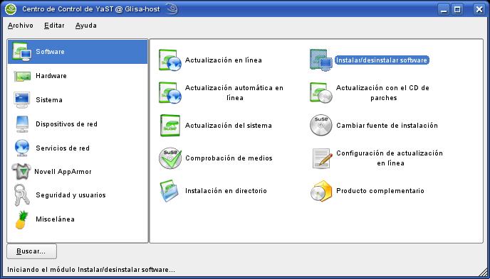 Nice Captura004 Yast Instalar Desinstalar Software.png ...