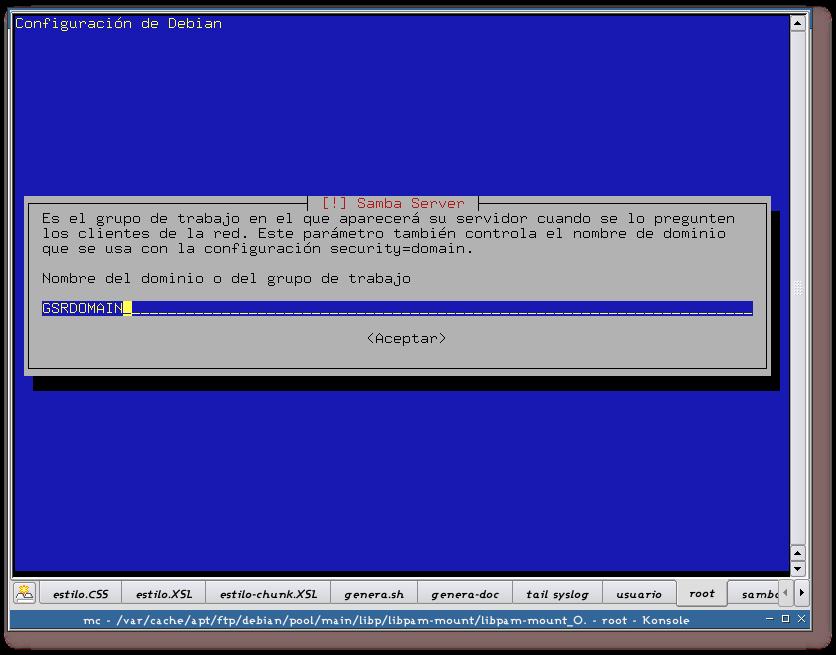 Integración de redes con OpenLDAP, Samba, CUPS y PyKota