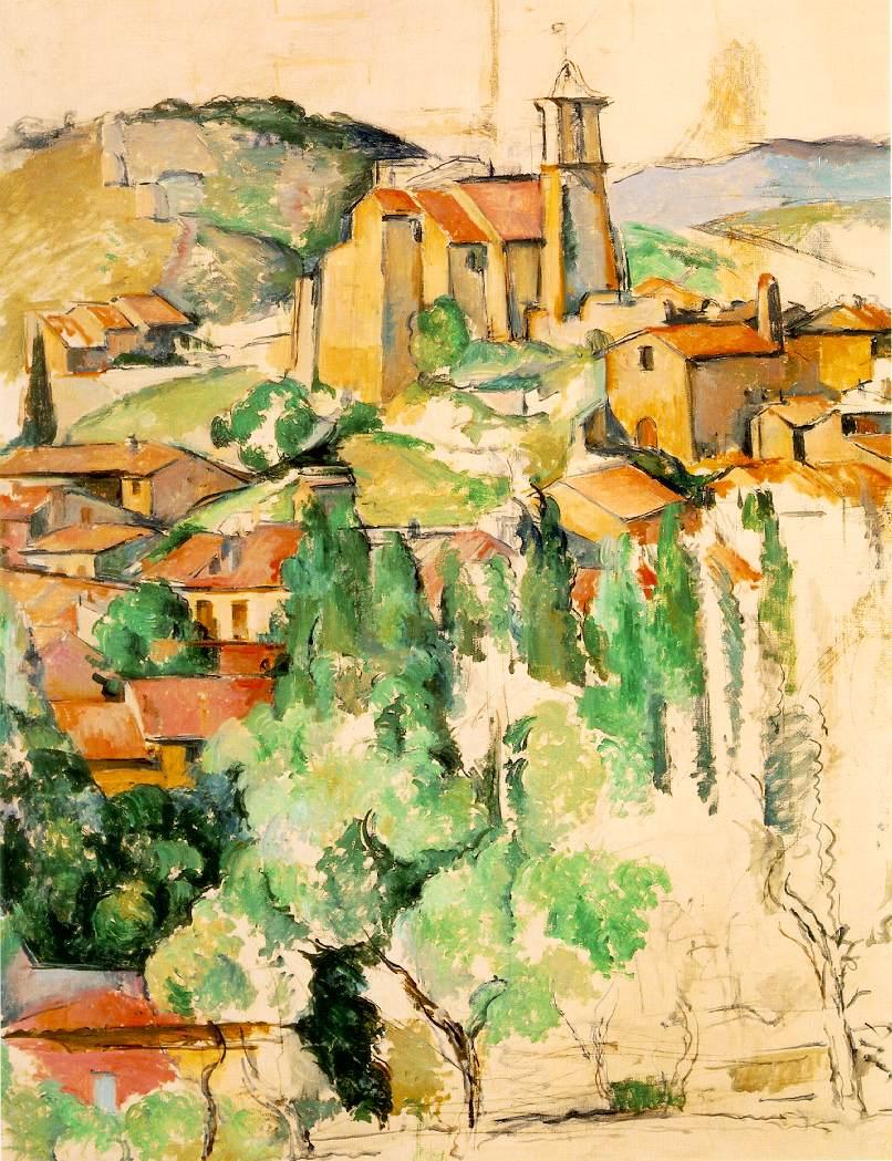 WebMuseum: Cézanne, Paul: Landscapes