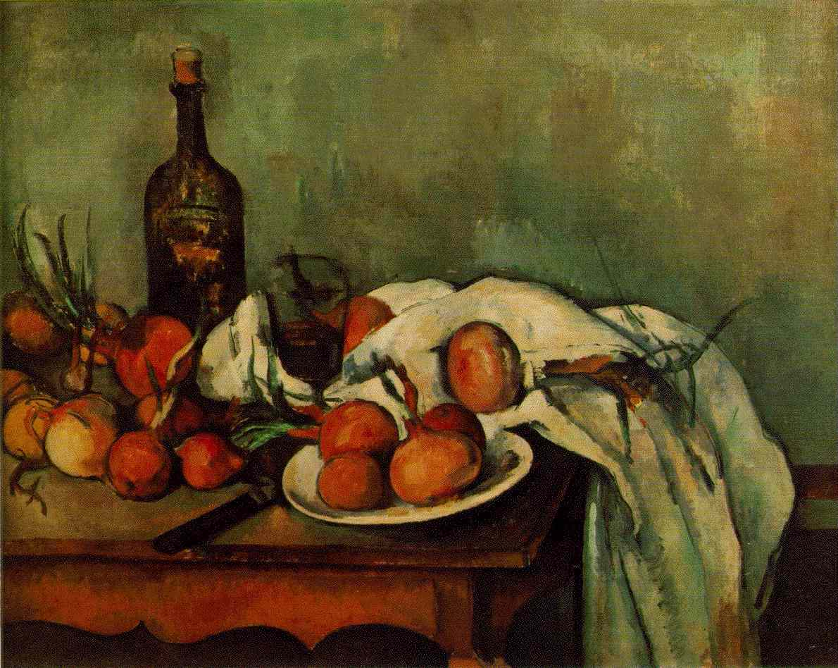 Cezanne Still Life With Compotier