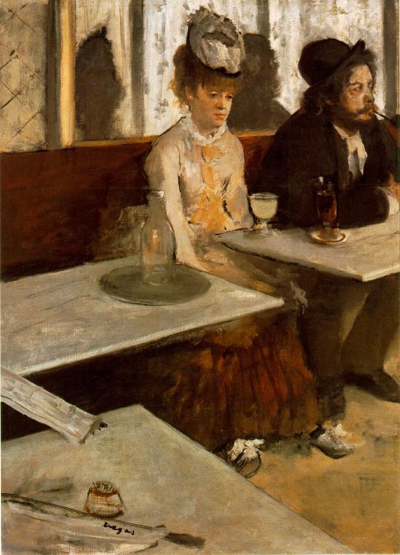 Degas Glass Of Absinthe