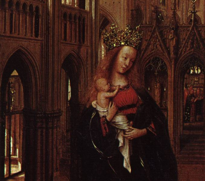 jan van eyck madonna in the The first documentary information about this painting dates back to 1778 it is not signed, but most experts agree that its author, no doubt, was jan van eyck.