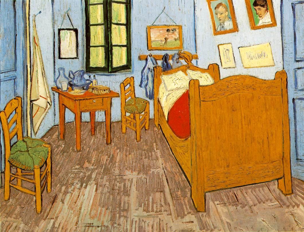 Image La chambre de Van Gogh. WebMuseum  Gogh  Vincent van