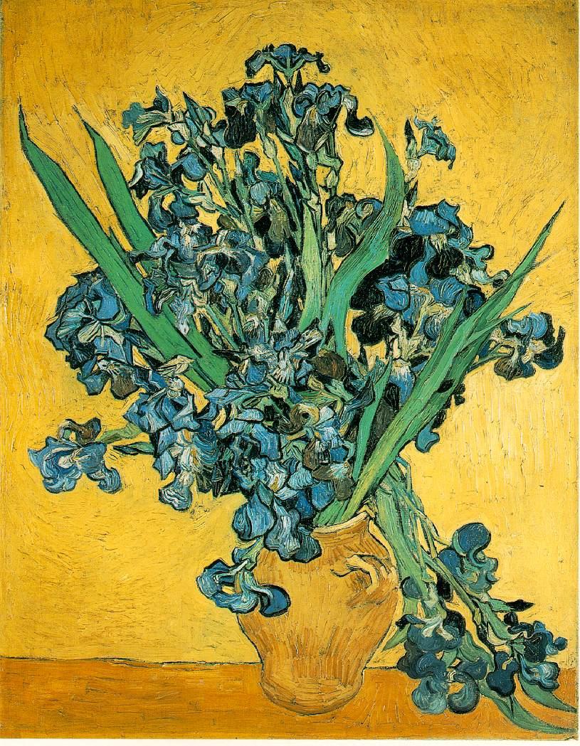 Webmuseum Gogh Vincent Van Irises