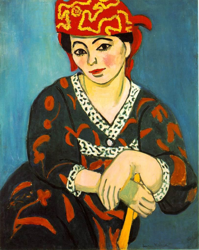 Henri Matisse - Page 4 Matisse.mme-matisse-madras