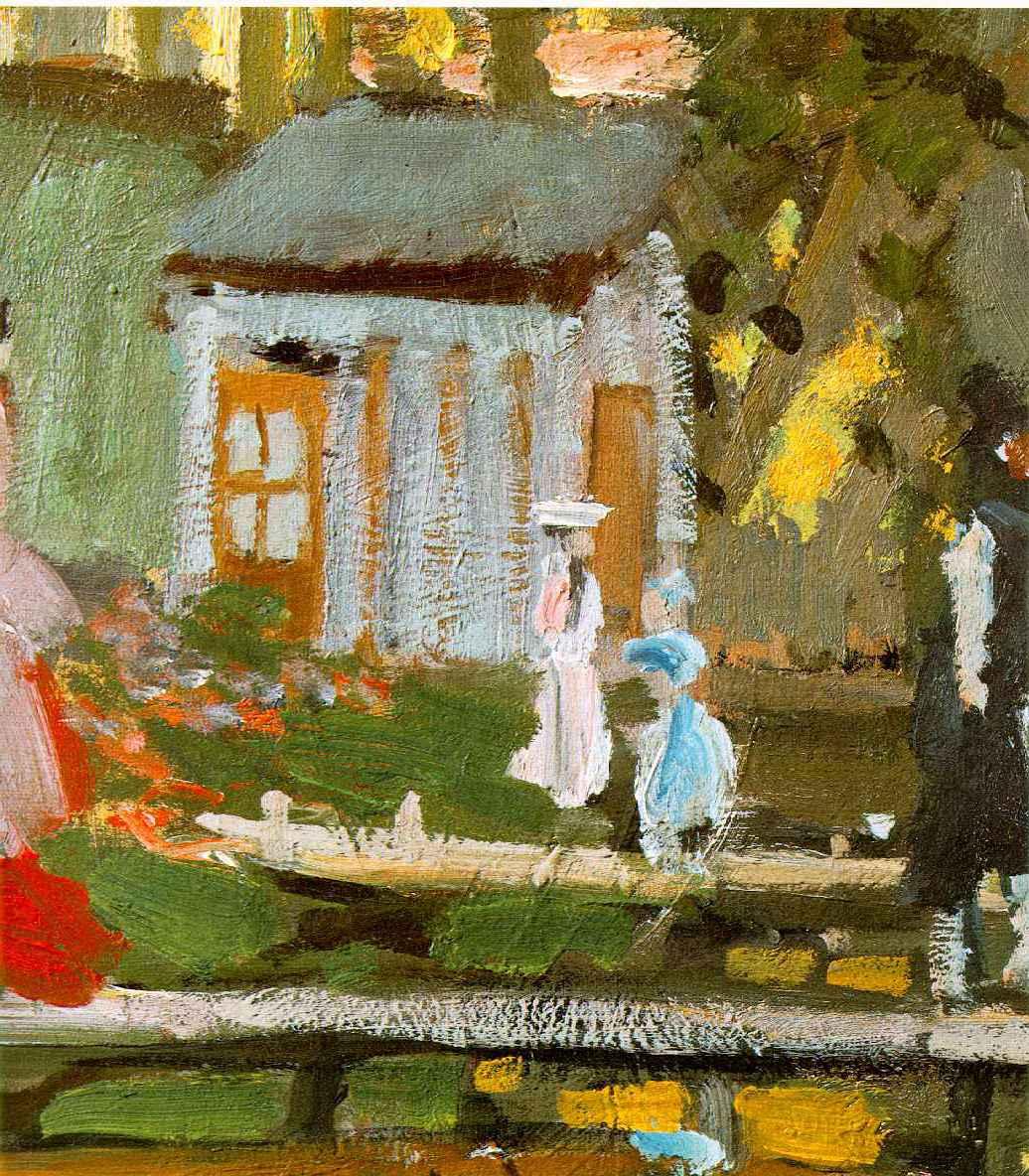 WebMuseum: Monet, Claude: Bathing at La Grenouillère