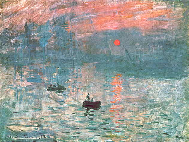 Impressionism Monet Sunrise WebMuseum: Impr...