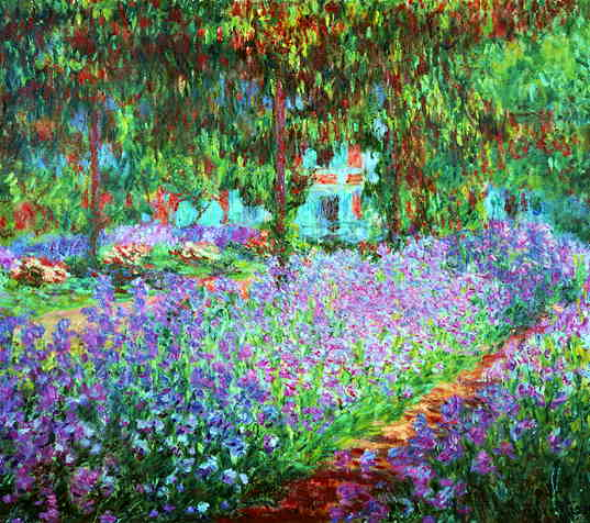 WebMuseum: Monet, Claude: The Artist\'s Garden at Giverny