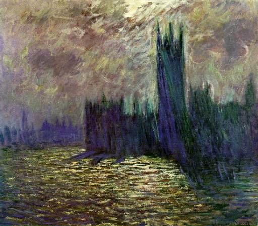 Webmuseum Monet Claude Houses Of Parliament London