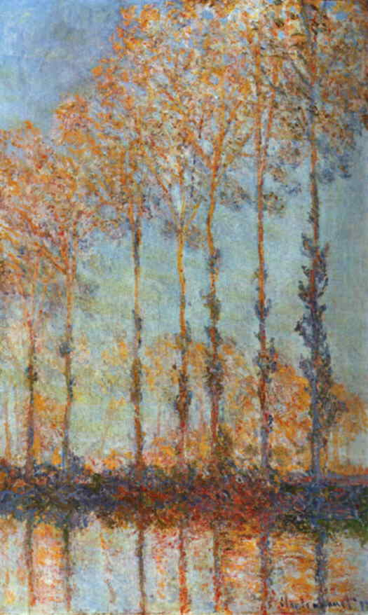 WebMuseum Monet Claude Poplars on the Epte