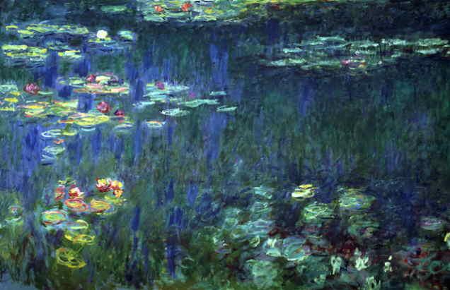 Webmuseum Monet Claude Waterlilies